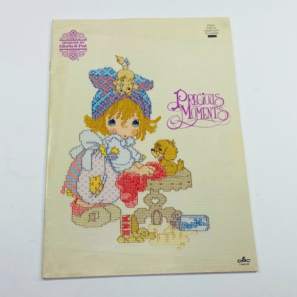 Precious Moments cross stitch book